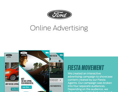 Ford Online Advertising