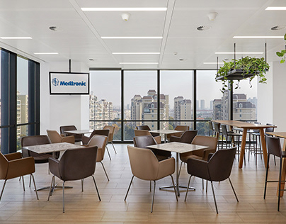 Interior photography: HLW Architects / Medtronic HQ