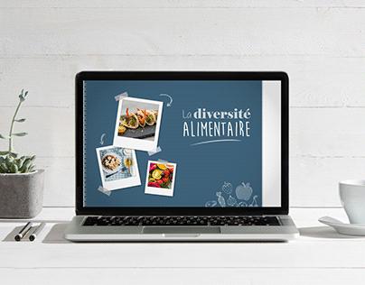 Module e-learning diversité alimentaire