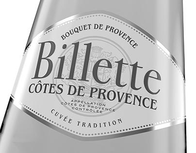 Listel - Billette Côtes de Provence rosé