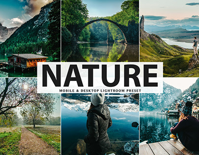 Free Nature Mobile & Desktop Lightroom Preset