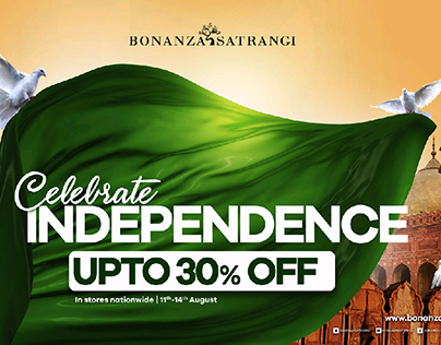 Bonanza Satrangi | Independence Day Sale