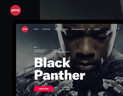 AMC Cinema - Website & App