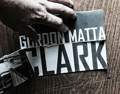 Gordon Matta-Clark promotional booklet