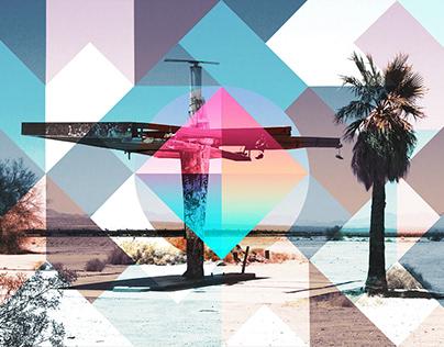 Landscape Geometric Wallpapers
