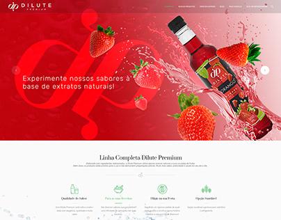 Desenvolvimento de Site Dilute Premium
