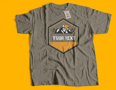 Boys t shirt and mockup download