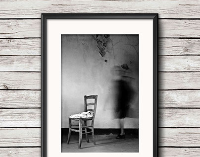 Lady With Chair