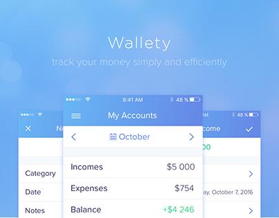 Wallety – Finance App