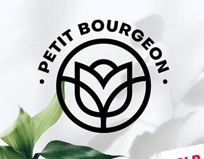 Logo 'Petit Bourgeon' - Fleuriste / France