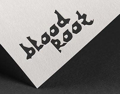 Bloodroot Typeface