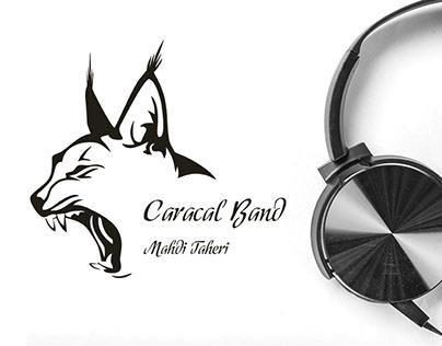 Caracal Band logo design