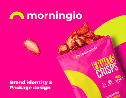 morningio | logo | brand identity | package design