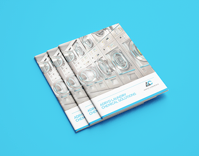 Laundry Chemical Solution Brochure Design