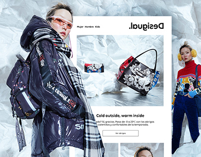 Desigual | Graphic & Digital design