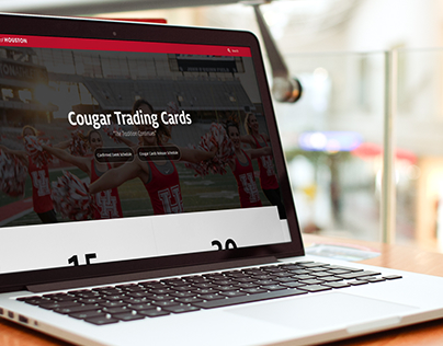 Landing Page - Cougar Trading Cards
