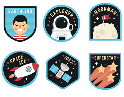 Space Stickers!