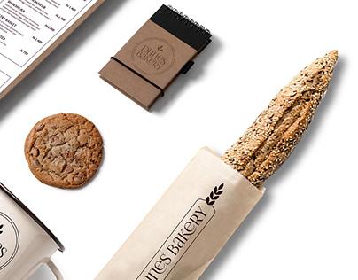 Dunes French Bakery . Logo design & Branding