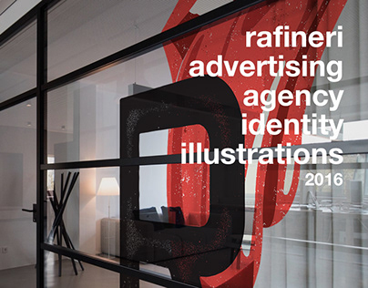Rafineri identity illustrations