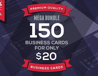 150 Business Cards Template Mega Bundle