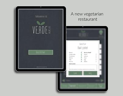 Verde - Menu App