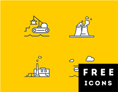 Transport and industry - Free icons