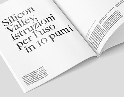 Portfolio Interattivo - Editorial