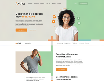 Aktiva Financial Help Website