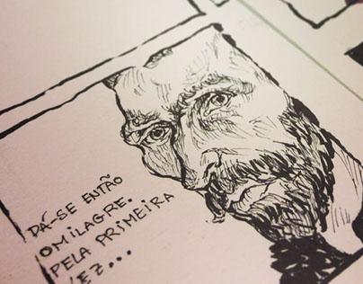 Van Gogh's Bedroom | comic sheet