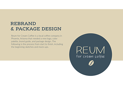 Reum for Cream Rebrand and Package Design