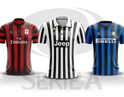 Serie A 2016-17 Kit Concept
