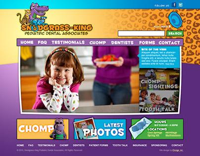 Snodgrass-King Pediatric Dental Site Design