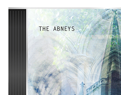 CD Cover Design for The Abneys - They Fall Asleep