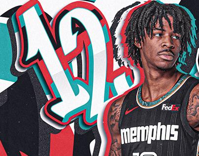 Ja Morant #12   Memphis Grizzlies