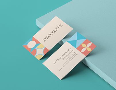 Decorate-Name card practice 3