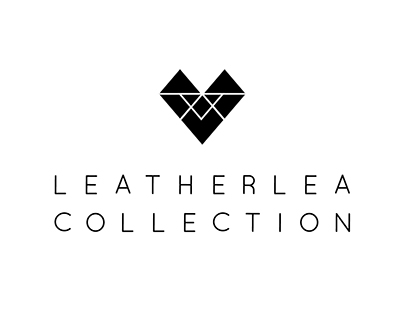 Leatherlea Collection Logo Design