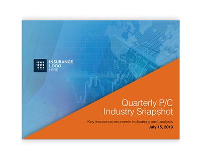 Insurance Industry Slidedoc (PowerPoint)