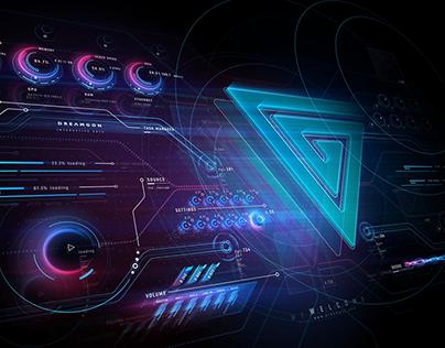 Sci-fi User Interface Dashboard
