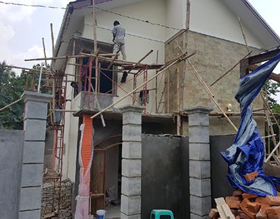 Konstruksi Villa Cibungbulang Bogor