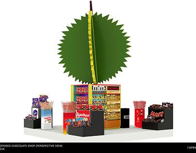 Proposed Chocolate Pop Up Store @KLIA April 19
