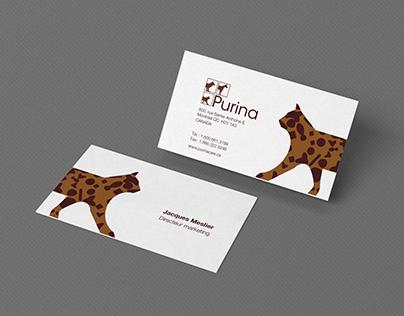 Logo Purina - Projet créatif