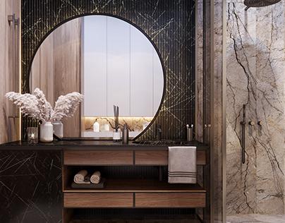 Bathroom- interior design_private apartament-Moscow55m2