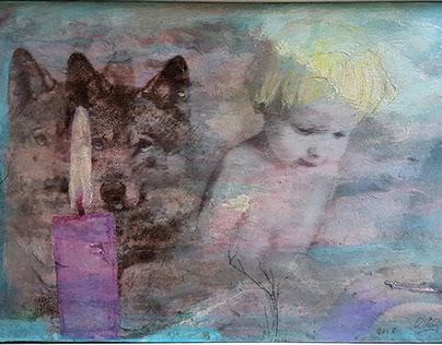 El lobo y el niño