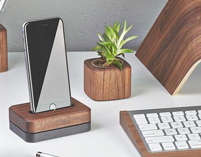 The Grovemade iPhone Dock
