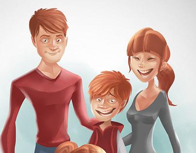 Famille Illustration