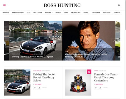 Boss Hunting Magazine & Publication