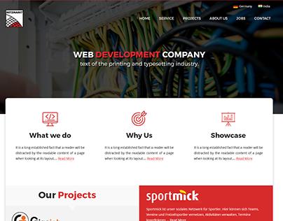 Redesign Netzmarkt Website