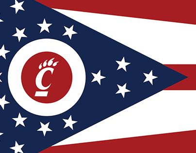 UC Ohio Flag