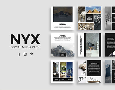 Nyx Social Media Pack