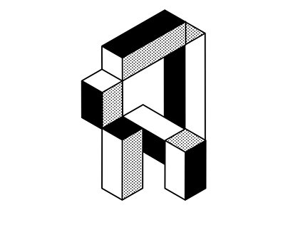 36 Days of Type 2017. Back to Black [ and White ].